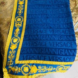 Versace beach Towel
